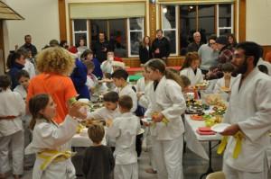 Judo Xmas party 2015