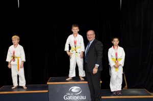 Gatineau judo tournament nov 19 2017 Tait medal