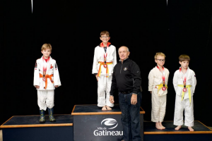 Gatineau judo tournament nov 19 2017 casey medal